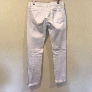 Fidelity Jeans - Fidelity white distressed denim jeans