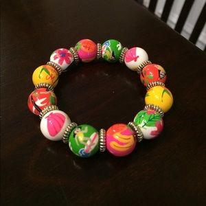 Angela Moore Jewelry - Colorful Hawaiian Angela Moore bracelet
