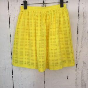 Tildon Dresses & Skirts - Tildon Yellow Miniskirt