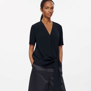 COS Tops - COS WRAP-OVER TOP.