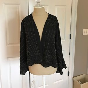 Other - Elizabeth Ryan Beaded Kimono L