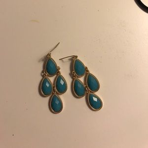 Turquoise Urban Outfitters Earrings