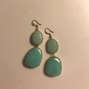 Jewelry - Blue stone earrings