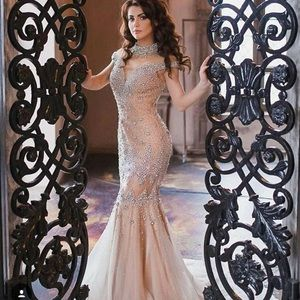 Terani Couture Dresses & Skirts - Terani Blush prom dress pageant dress crystal
