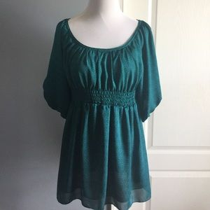 Anthropologie odille tunic top