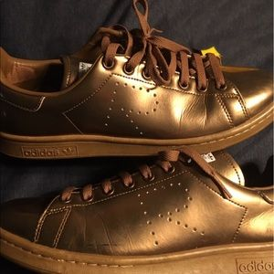 Raf Simons Other - Raf Simons Adidas  Stan smith gold metallic