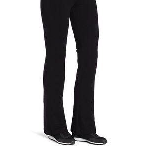 Spalding Pants - Spalding Black Women's Boot Leg Yoga Workout Pants