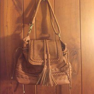 Antik Kraft Handbags - Fuax brown leather purse