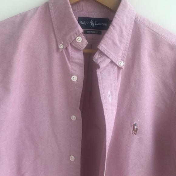 63 off ralph lauren other ralph lauren custom fit for Button up collared sport shirts