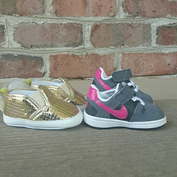 7a95c112a58ebd Baby Girl Sneakers Size 3c