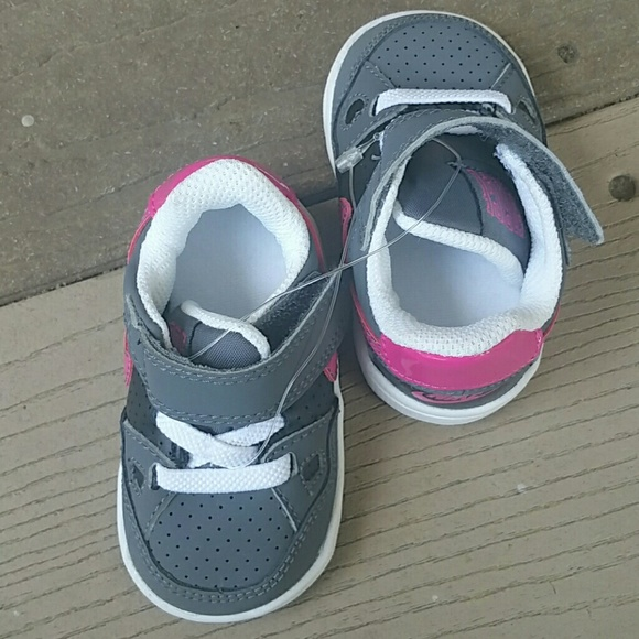 off Nike Shoes 2 pair of Baby girl shoes sz 2c and