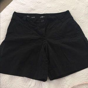 Boyfriend cut shorts