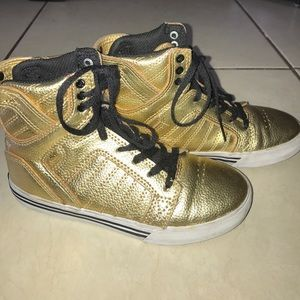 Supra Other - SUPRA Gold Sneakers 👟