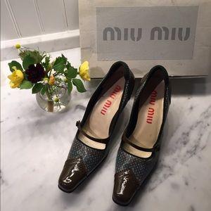 Vintage Miu Miu Heels