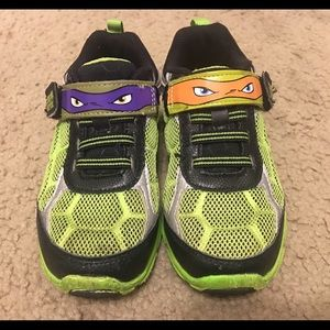 Other - Toddler boys ninja turtle sneakers. Size 9.5