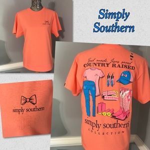 "Simply Southern Tops - ✨SALE✨New Simply Southern ""Country Raised"" Tees"