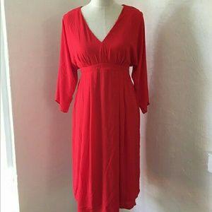 ASOS Maternity Dresses & Skirts - ASOS Maternity Red Back Tie Empire Dress