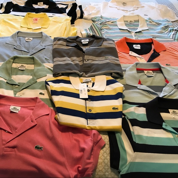 8cdd19f3 Lacoste Other - Lacoste Polo Shirts - Lot of 12 (Sz 3 / Small)