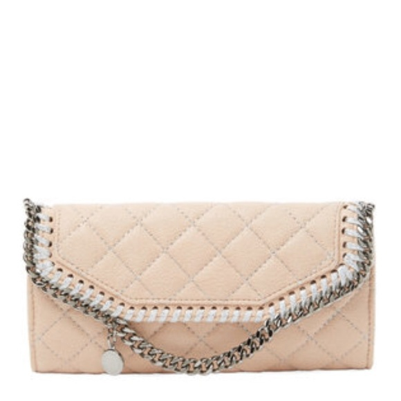 a90061b545 Shaggy Deer Quilted Falabella Continental Wallet. NWT. Stella McCartney