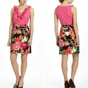 Anthropologie Great Escape Floral Dress by Tabitha
