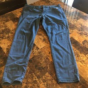 GAP Denim - Deep Vintage Teal Legging Jean from The Gap