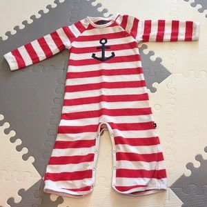 Toobydoo Other - Toobydoo Romper Nautical Anchor Beach Boy Girl