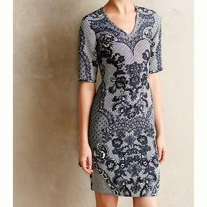 Anthropologie Dresses & Skirts - ANTHROPOLOGIE YOANA BARASCHI LACE PRINT DRESS