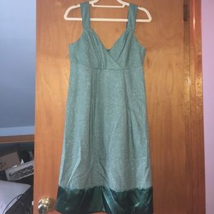 Dresses & Skirts - Green babydoll dress