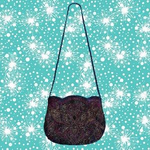 vintage 70's beaded bag - perfect condition!