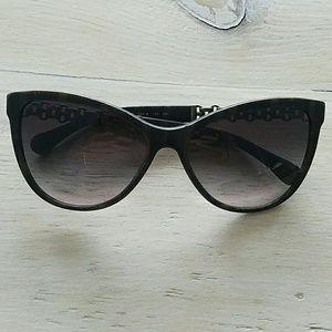 668f62e335 CHANEL Accessories | 5326 Chain Cat Eye Sunglasses 525 | Poshmark