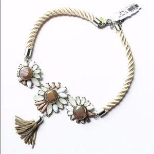New York & Company Jewelry - NWT NY&Co Rope & Tassel Necklace