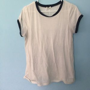 Ardene Tops - Blue and white shirt