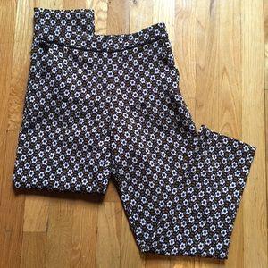 Topshop Pants - Topshop Retro Floral Cropped Pants