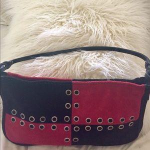 Handbags - Chic Patchwork Suede Bag!!!