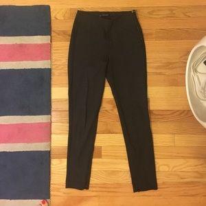 Zara Stretch Pants in Gray Sz S