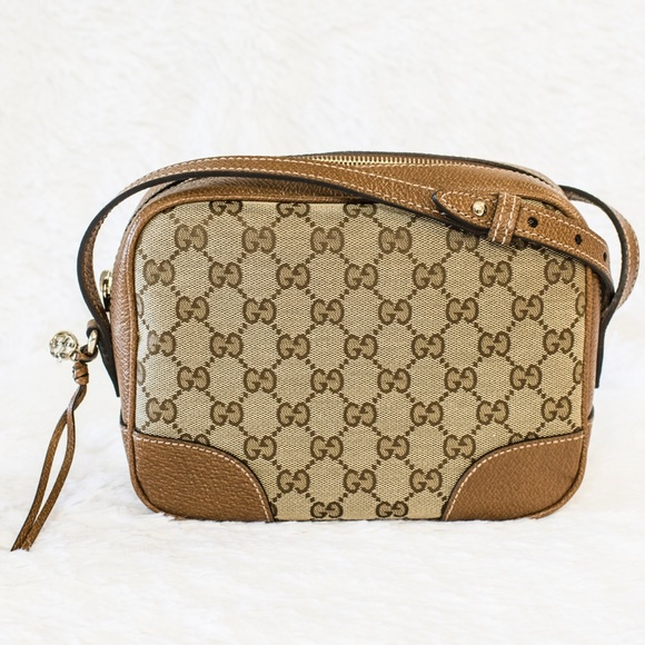 04162aca9456 NEW GUCCI BREE ORIGINAL GG CROSS-BODY BAG