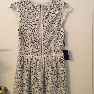 Aritzia Dresses - White lace Talula belgravia dress NWT size6