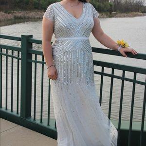 Adrianna Papell White Dress