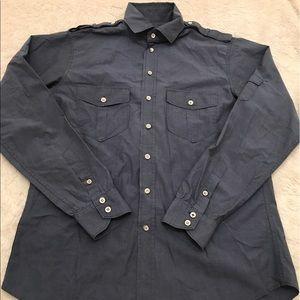 rag & bone Other - Rag & Bone Button Down Shirt with Epaulettes