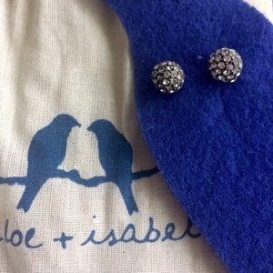 Chloe + Isabel Jewelry - C+I Pave Ball Stud Earrings