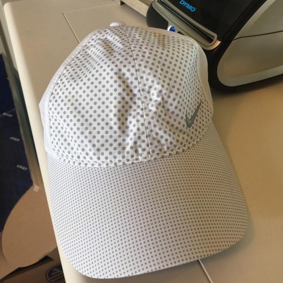 Polka Dot Nike Golf Hat. M 59346f6c41b4e04aab017855 f64f0462f09