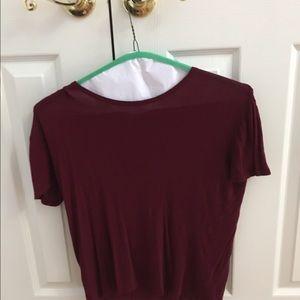 Knit t shirt - rarely worn