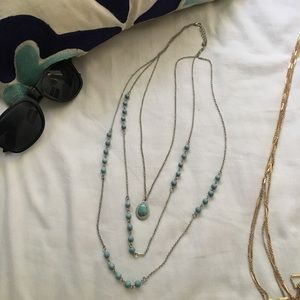 Jewelry - 💥TRADED Turquoise Layered Necklace!