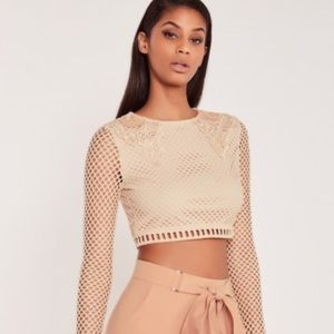 Carli Bybel X MissGuided Crop Top