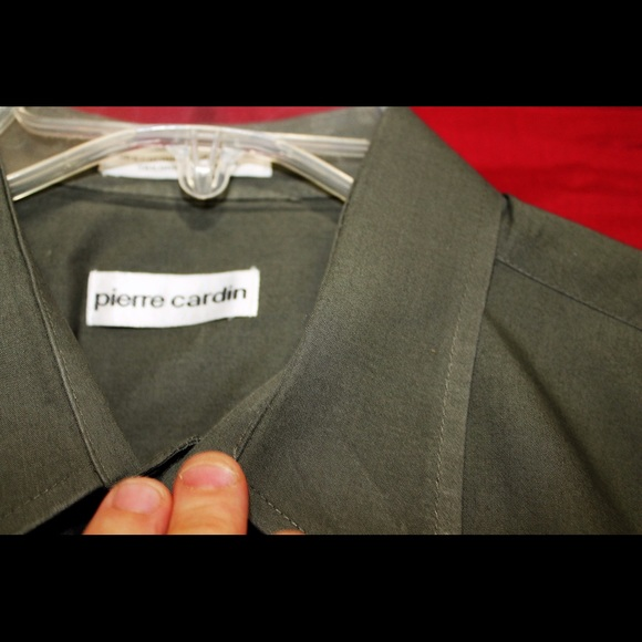 69% off Pierre Cardin Other - Pierre Cardin Olive green 17 ...