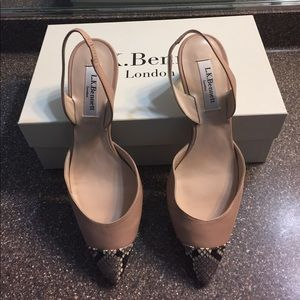 LK Bennett Shoes - New LK Bennett Keira Slingback Kitten Heels