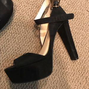 Jessica Simpson Shoes - Jessica Simpson strappy black platform heels