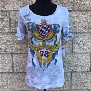 CAbi Royal Crest Graphic T- Shirts 👑