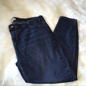 River Island Denim - River Island skinny dark wash jeans size 24