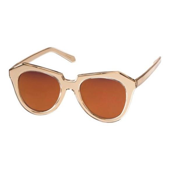 2e3bfb492b3 Karen Walker Gold Number One Sunglasses